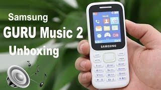 Samsung Guru Music 2 - Unboxing & First look  in 2017 || Nahid Technology (4K) ✔