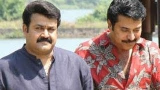 Mammootty and Mohanlal in Fazil Movie