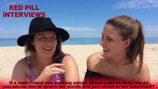Listen To Her Actions, Not Her Words - Beach Girls Interviewed by The Red Pill