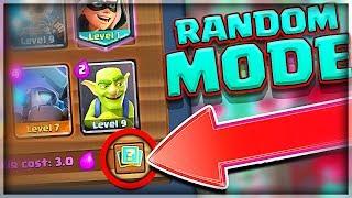 RANDOM DECK MODE! • Clash Royale Event!