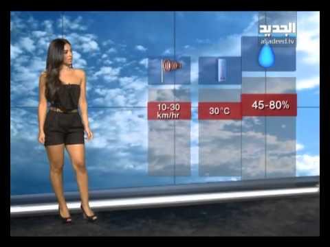 نشرة الطقس المسائية مع دارين شاهين 01 09 2012