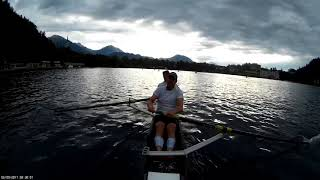 Training session Bled C2- DeHoop NED - World Rowing Masters Regatta 2017 WRMR2017 - part1
