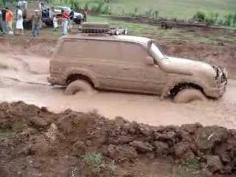 Toyota Land Cruiser 80 Series Mud Pit