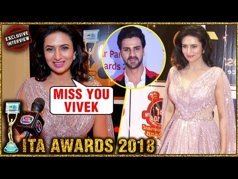 Divyanka Tripathi At ITA Awards Without Vivek Dahiya | EXCLUSIVE INTERVIEW