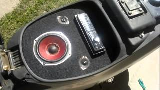 moto blitz tuning 110 con sonido.