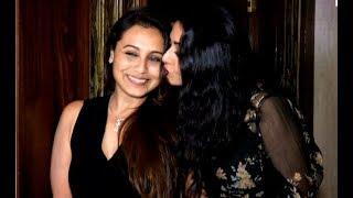 Rani Mukherjee नज़र आयी दोस्त Sridevi के  Birthday Party में