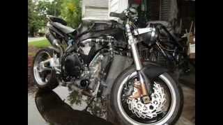 Honda CBR 1000RR StreetFighter Build FireBlade (photo slide show)