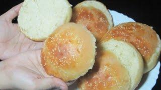 Burger Bun Recipe - Homemade Buns Recipe - Simple Bun Recipe