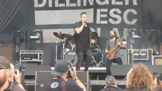 Dillinger Escape Plan plays @ Rock on the Range 5-21-2017