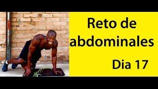 ABDOMINALES EN 30 DIAS ( RETO DIA 17)