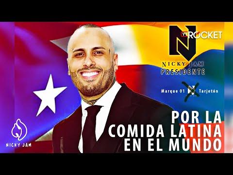 Nicky Jam Embajador De La Comida Latina (Parodia)