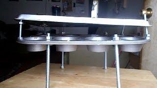 muffin pan heater/ stove