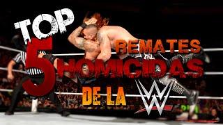 Top 5 Remates HOMICIDAS de la WWE