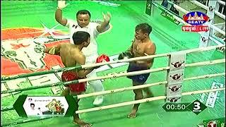 Sok Savin, Cambodia Vs Phetana, Thai, Khmer Boxing 13 october 2018