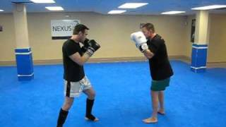 Mixed Martial Arts & Kickboxing in Massachusetts: Leg Kick to Sweep