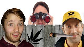 Nachbarn entdecken meine Drogen-Videos und kiffender Postmitarbeiter - 2 Real Life Storys