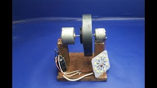 Free energy self running machine , science school project for 2018