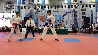 Asian Taekwon-do champion 2018