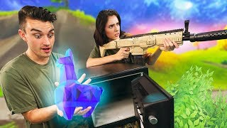 NERF Fortnite The Getaway Challenge In Real Life!