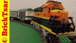 LEGO 9V TRAIN 10133 BNSF GP 38 LOCOMOTIVE  Burlington Northern Santa Fe