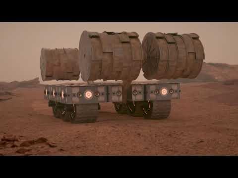 HASSELL EOC presents MARS HABITAT