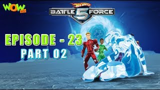 Motu Patlu presents Hot Wheels Battle Force 5 - Spinning Out - Episode 23-P2- in Hindi