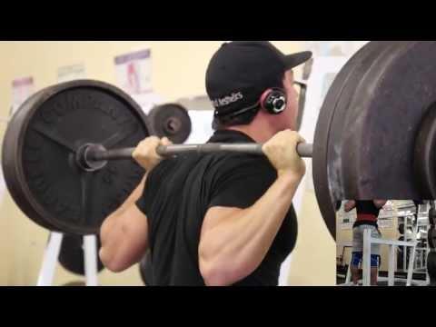 Matt Ogus Squats 350 for 10 reps (166-168 lbs bodyweight)