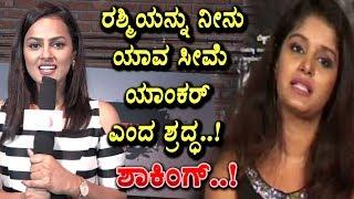 Sraddha srinath shocking answers to Rapid Rashmi | Operation Alamelamma