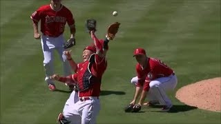 MLB Great Deflected Plays