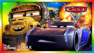 Cars 3 Driven to Win - gameplay - Jackson Storm Vs Miss Fritter