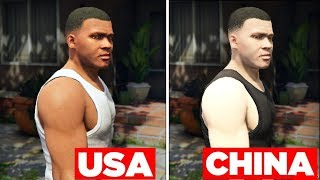 5 THINGS IN GTA 5 THAT LOOK DIFFERENT IN OTHER COUNTRIES