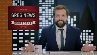 GREG NEWS com Gregório Duvivier| ESPECIAL 2018