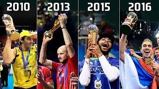 Volleyball World League   Winners 2003 - 2017