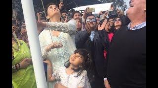 Aishwarya Rai Bachchan Becomes First Woman To Hoist Indian flag At IFFM