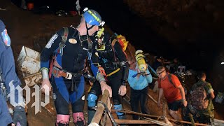 Missing soccer team found alive in Thai cave after 9 days