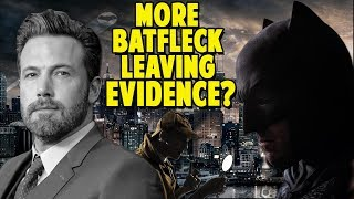 More Evidence that Ben Affleck is Leaving the Batman Role?