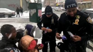 Cops Buy Gloves for Kids After Losing Nor