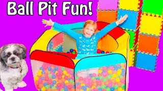 ASSISTANT and Wiggle Ball Pit Surprise with PJ Masks + Barbie + Mad Balls Funny Video