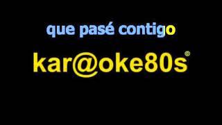 karaoke Tu Recuerdo Divino estilo A.Syntek