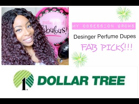 Dollar Tree | PERFUME (My Obsession Grows!!) DESIGNER DUPES FAB PICKS!! (2/5)