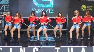 160528 Angelpluz cover AOA - Miniskirt + Good Luck @G-WAVE Cover Dance 2016