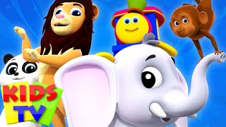 Going To The Zoo | Bob The Train | Video For Children | Kindergarten Nursery Rhymes For Babies