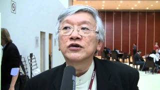 Martin Khor Executive Director of The South Centre at the UNFCCC Climate Talks in Tianjin China