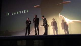 Live by Night: premiere in Paris presented by Ben Affleck & Chris Messina