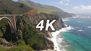 [4K] California Nature + Vivaldi Classical Chillout Relaxation Video