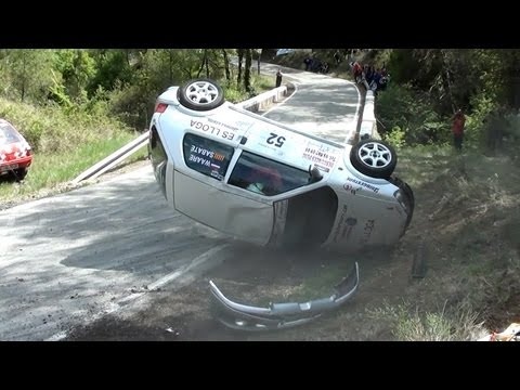 Rally Igualada 2012 Recopilación trompos y accidentes HD