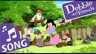 Snow White and the Seven Dwarfs Song - Debbie and Friends