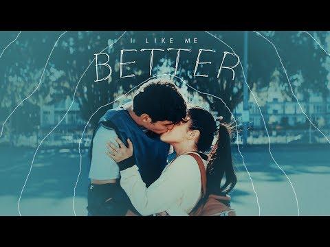 Peter & Lara Jean   I like me better