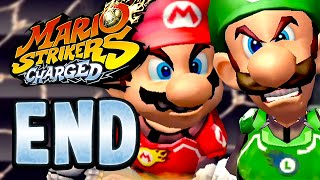 Mario Strikers Charged - 50 End - Super Brothers Showdown! (2 Player)