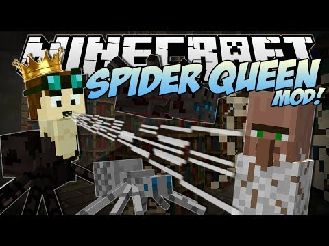 Xxx Mp4 Minecraft SPIDER QUEEN MOD Rule Over A Spider Army Mod Showcase 3gp Sex